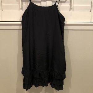 Old Navy Black slip dress